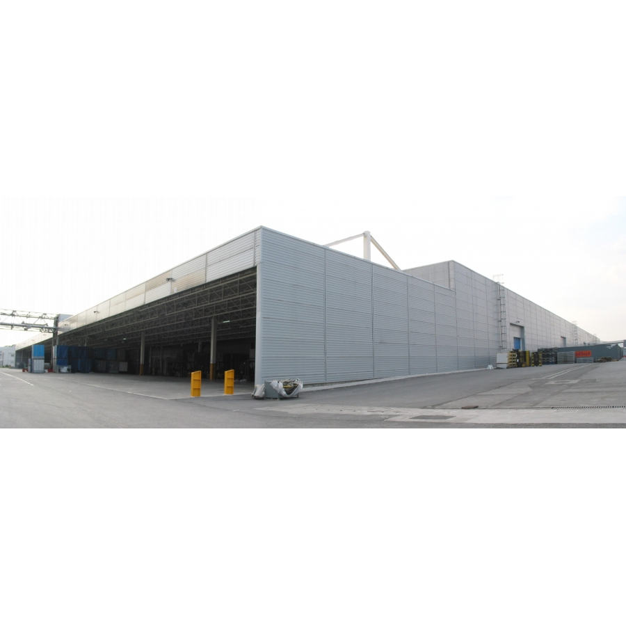 TOYOTA ADAPAZARI CAR FACTORY EXTENSION BUILDINGS (Turnkey)