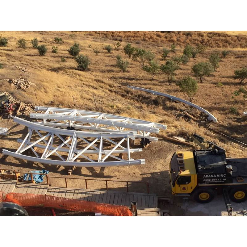 GOBEKLITEPE EXCAVATION AREA CANOPY STRUCTURES (2017)