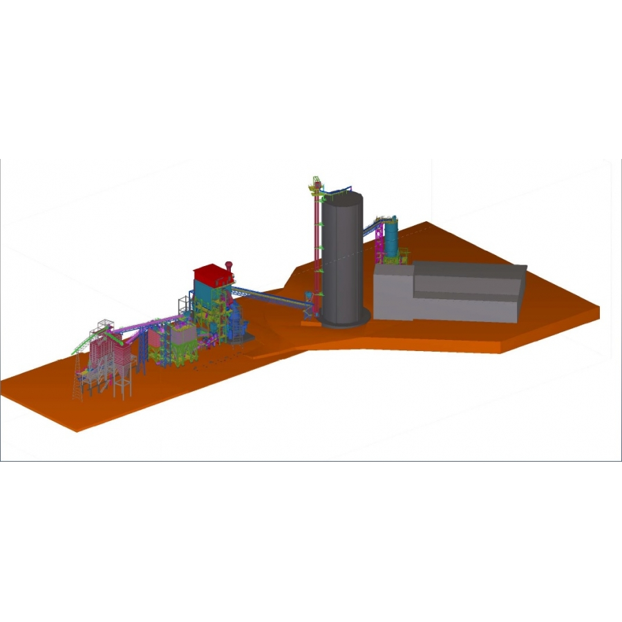 CEMENT PLANT PROJECT - RIOBAMBA (2019)