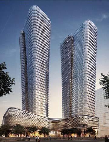 ISTANBUL INTERNATIONAL FINANCIAL CENTER ZİRAAT BANK TOWERS PROJECT (2019)
