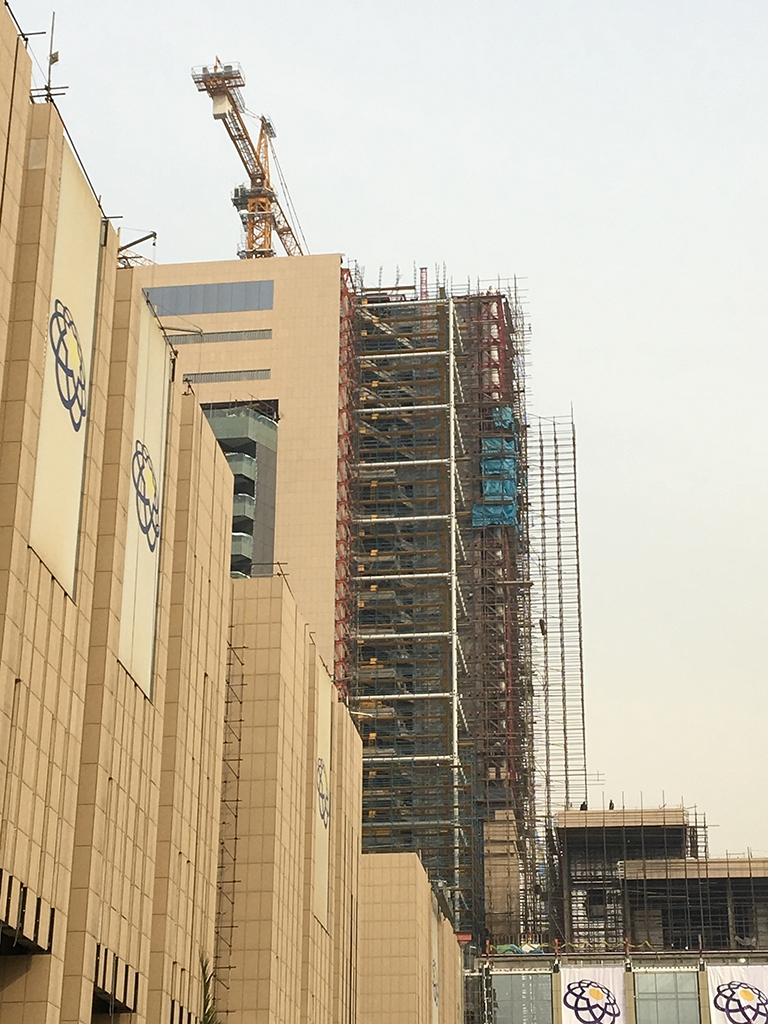 IRAN TAT MALL HOTEL ROOF AND FACADE STEEL MANUFACTURING (2017)