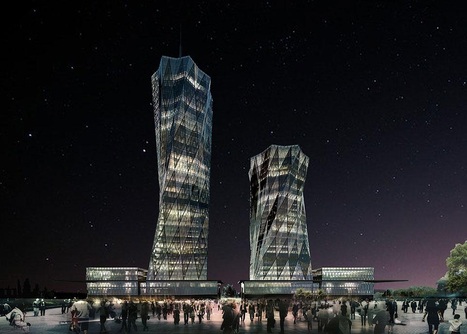 VAKIF GYO WALLS FRONT STEEL CONSTRUCTION (2018)