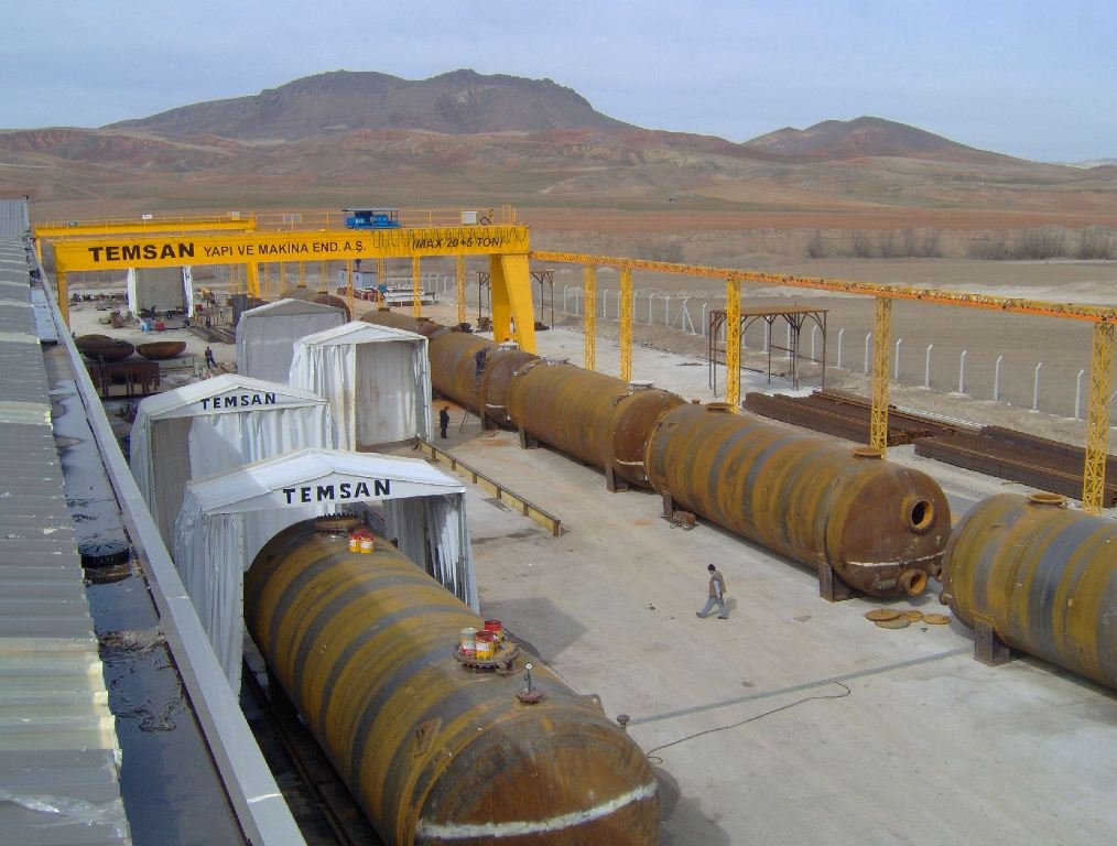DESALINIZATION FILTER TANKS  (2008)