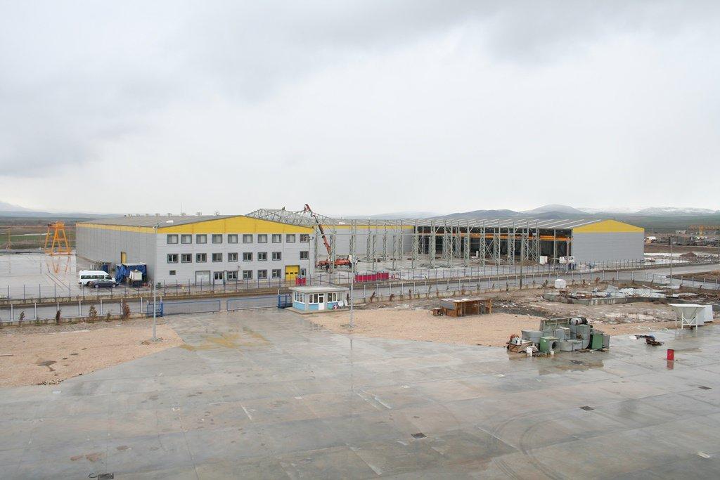 TEMSAN BOSB FACTORY (TURKEY-2009)