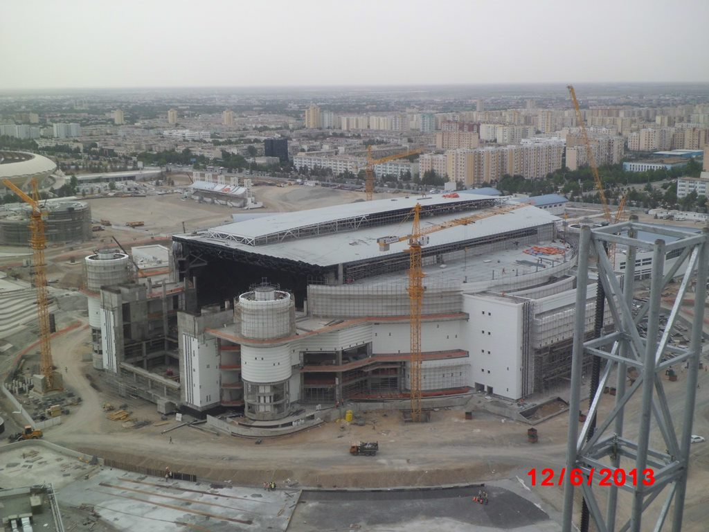 OLYMPIC COMPLEX , LARGE ARENA STADIUM (2012)