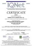 Health and Safety Management System - BS OHSAS 18001:2007