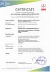 Fabrika Üretim Kontrolü Uygunluk Sertifikası